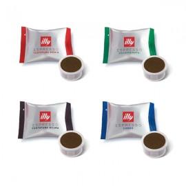 Pack 100 capsules Illy et Mitaca