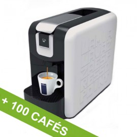 MACHINE LAVAZZA EP MINI + 100 CAFÉS